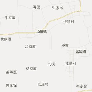 高邮市汤庄镇行政地图