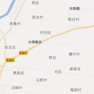 江苏省行政地图 淮安市行政地图