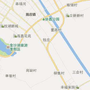 江苏行政地图 盐城行政地图