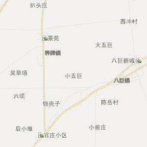 界牌行政地图 八巨行政地图