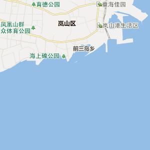 山东省行政地图 日照市行政地图