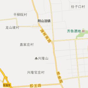 坊子区坊城街道行政地图图片