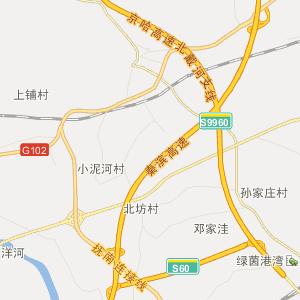 抚宁抚宁行政地图_中国电子地图网图片
