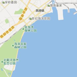北戴河戴河行政地图_中国电子地图网