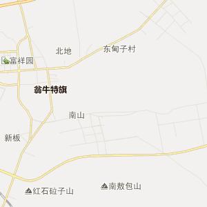 解放营乡行政地图 阿什罕苏木行政地图图片
