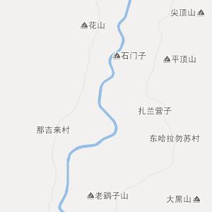 内蒙古自治区行政地图