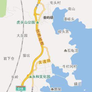 河南鹤壁桑园小镇地图