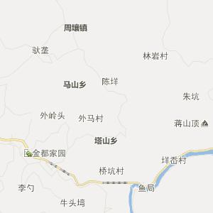 温州文成行政地图_中国电子地图网