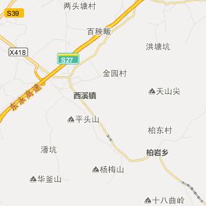 永康市龙山镇行政地图查询