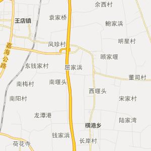 嘉兴海宁行政地图_中国电子地图网