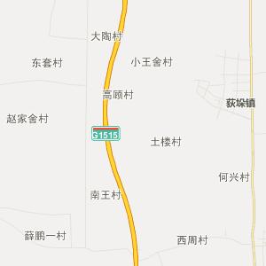 兴化市沈伦镇行政地图