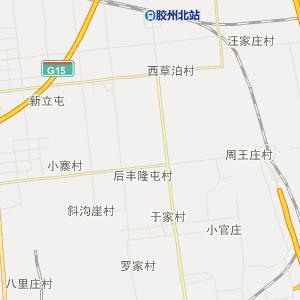 山东行政地图 青岛行政地图
