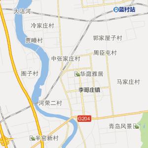 青岛胶州行政地图_胶州在线行政图