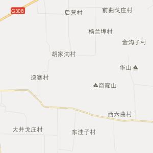 城关行政地图