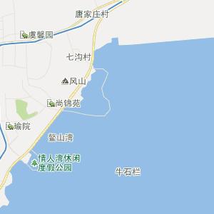 即墨市岙山卫镇行政地图