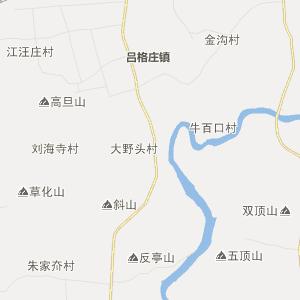 青岛市莱西市行政地图