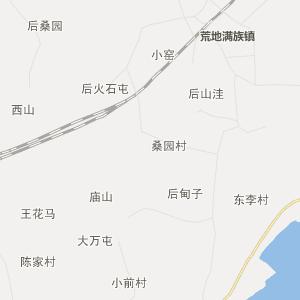 辽宁省行政地图 葫芦岛市行政地图 绥中县行政地图 沙河镇行政地图