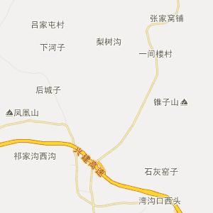 辽宁省行政地图 葫芦岛市行政地图 建昌县行政地图 药王庙镇行政地图