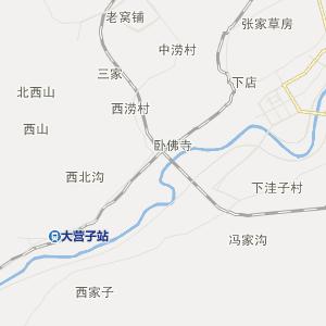 辽宁省行政地图 朝阳市行政地图