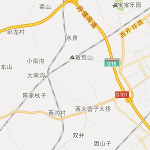双塔区凌凤街道行政地图