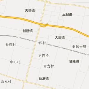 启东少直行政地图_中国电子地图网