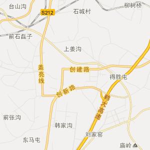 辽宁省行政地图 大连市行政地图