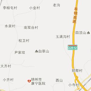 辽宁省行政地图 锦州市行政地图