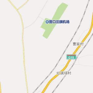 大石桥市溥洛铺镇行政地图