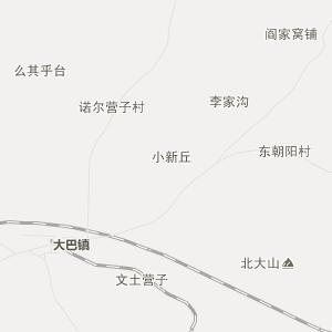 阜新县老河土乡行政地图图片