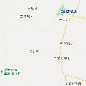 法库丁家房行政地图_中国电子地图网图片