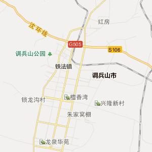 沈阳法库行政地图_中国电子地图网图片