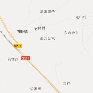 双辽茂林行政地图_中国电子地图网