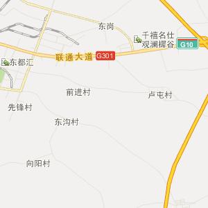 齐齐哈尔昂西地图