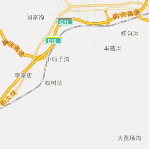 陕西华县县城地图