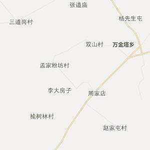 农安万金塔行政地图_中国电子地图网
