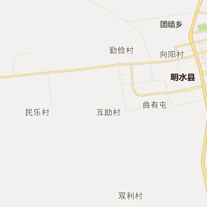 绥化明水行政地图_明水在线行政图