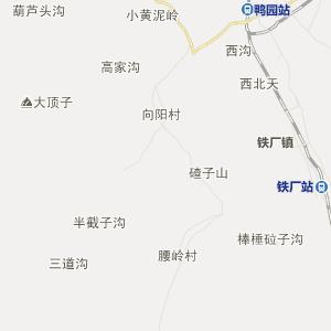 二道江区桃园街道行政地图图片