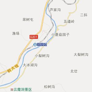 二道江区五道江镇行政地图图片