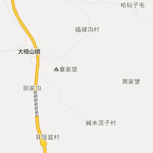 吉林省行政地图 通化市行政地图