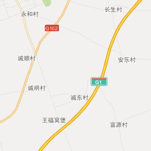 哈尔滨双城行政地图_中国电子地图网