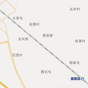 肇东市姜家镇行政地图