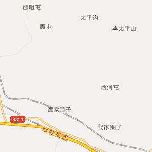 帽儿山镇卫星地图 哈尔滨市尚志市帽儿山镇卫星地图