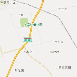 黑龙江行政地图 绥化行政地图