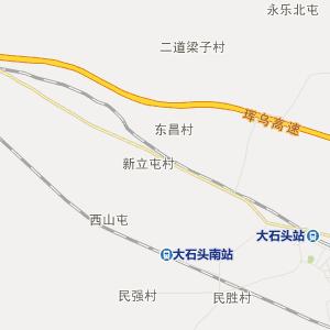 吉林行政地图 延边行政地图