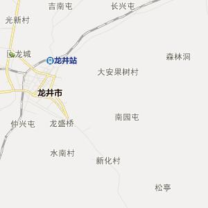延边龙井行政地图_龙井在线行政图查询