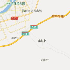 黑龙江省行政地图 牡丹江市行政地图