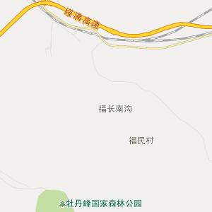 黑龙江牡丹江高清行政地图