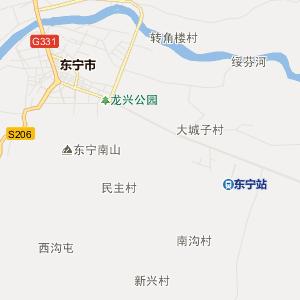 牡丹江东宁行政地图_中国电子地图网