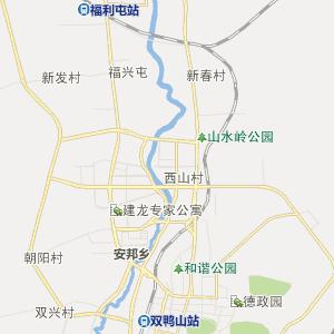 三江车厢厂-地图 双鸭山市尖山区安邦乡三江车厢厂