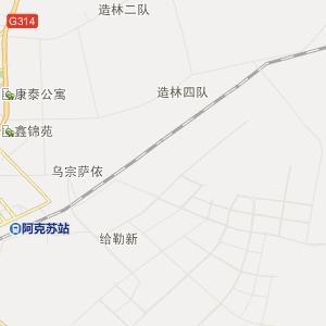 新疆阿克苏行政地图_中国电子地图网